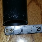 measure one and one quarter Inch Wand