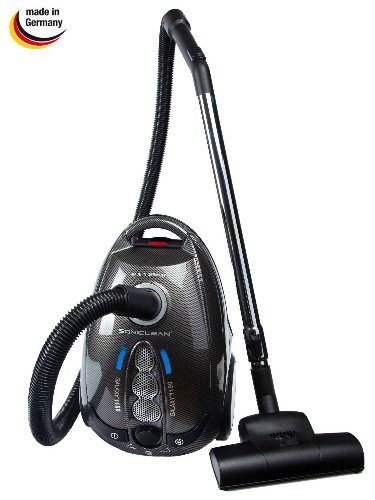 Soniclean Galaxy 1150 Canister Vacuum Cleaner is a good option for use on berber carpet