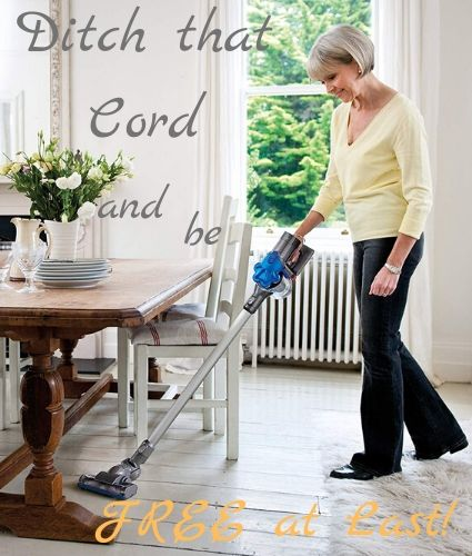 ditch that cord and be free to vacuum your hardwood floors