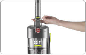 Hoover WindTunnel Air Steerable is lightweight