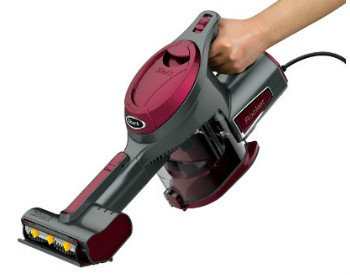 the Shark Rocket Corded Hand Vac HV292 works well for cleaning stairs and other areas of the house