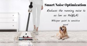 Tineco PURE ONE S12 with smart noise optimization