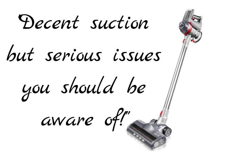 Deik Vacuum Cleaner 2 in 1 Cordless Vacuum Cleaner