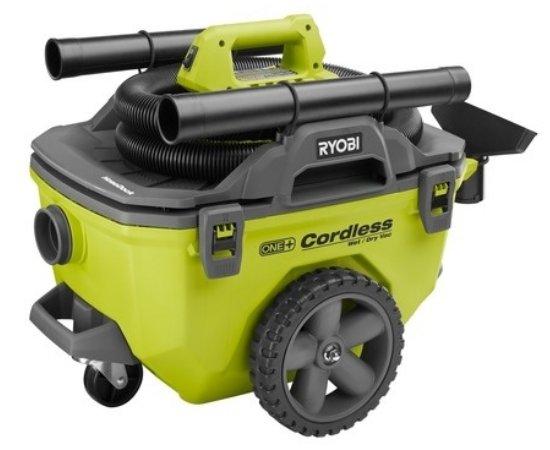 Ryobi 18 Volt ONE plus 6 Gallon Cordless Wet Dry shop Vacuum