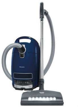 Miele Complete C3 Marin Canister Vacuum Cleaner can be used on stairs
