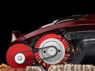 Shark DuoClean technology uses a soft roller in front for fine clingy dust and large debris and a stiff brush roller in rear for carpet