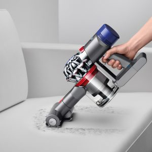 Dyson V8 Absolute Cord Free Vacuum transforms to a powerful hand vacuum with mini motorized brush