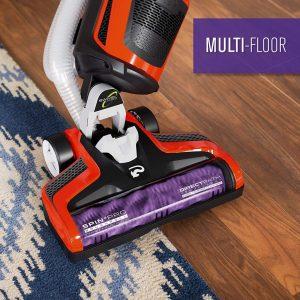 Dirt Devil Razor Pet UD70355B cleans multiple floor types