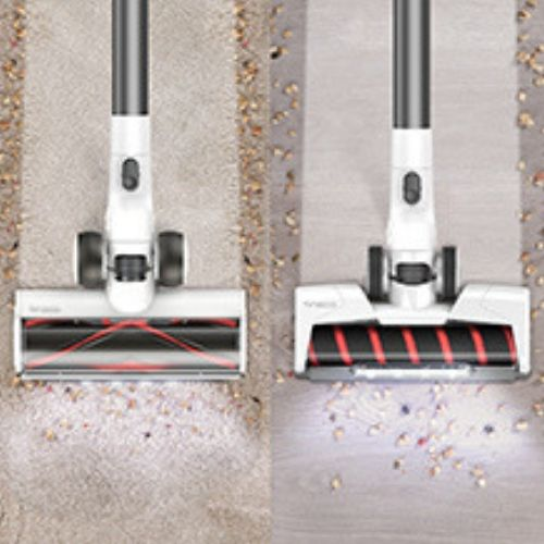 Tineco Pure ONE S12 PLUS includes 2 floor brushes for carpet and hard floors