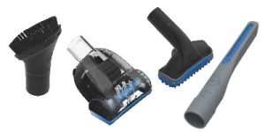 Hoover REACT Professional Pet Plus UH73220PC REVIEW Four Cleaning tool attachments