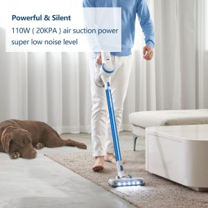 the tineco a10 hero cordless vacuum cleaner is very effective for cleaning low and medium pile carpet