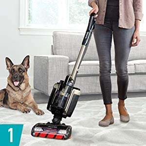 Shark ION P50 Lightweight Cordless IC162 removes animal or human hair from carpet and wood floors