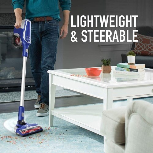 Hoover Impulse Cordless Stick Vacuum Cleaner BH53020 is lightweight and steerable