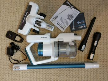 Whats in the box of the Eureka NEC180 RapidClean Pro Cordless Vacuum