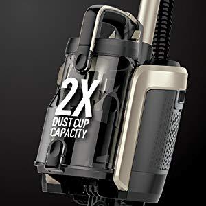 Shark ION P50 Lightweight Cordless Upright Vacuum IC162 has .54 dry quart dust cup capacity