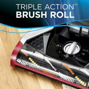 Bissell CleanView Plus Rewind Upright Bagless Vacuum with triple action brushroll