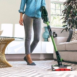 DuoClean and Smart Sense technology enable the Shark IONFlex DuoClean Cordless Ultra Light Vacuum to effectively clean carpet and smooth floors