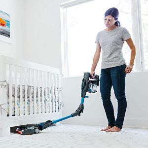 Shark ION F80 MultiFLEX IF281 Cordless Vacuum cleans under low clearance furniture