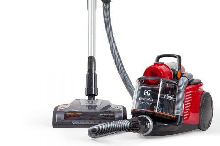 Electrolux EL4335B Ultra Flex Canister Vacuum designed especially for ultra plush carpet