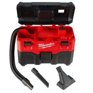 Milwaukee M18 2 Gal 18 Volt Lithium ion Cordless Wet Dry Vacuum comes with 6 ft flexible and tools