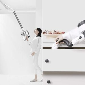Tineco PURE ONE S12 with multi angle folding adapter and flex hose accessories for above floor cleaning applications
