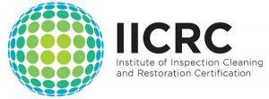 IICRC Certification certificate for floor care technician