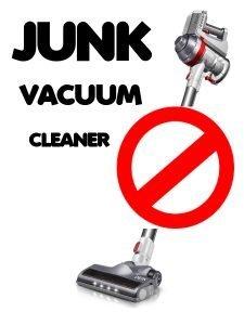 JUNK VACUUM CLEANER