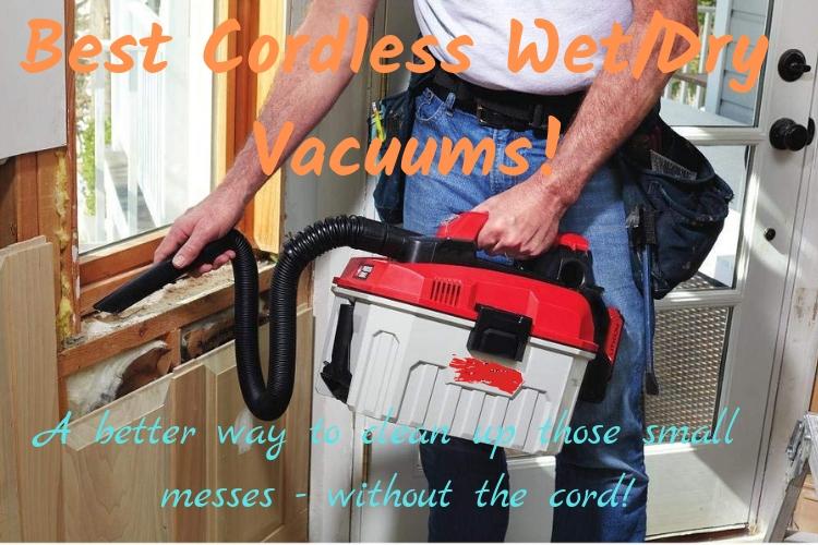 best cordless wet dry vacuums