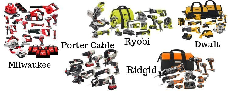 Cordless power tool series