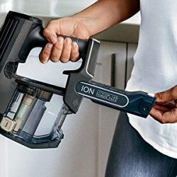 Shark ION F80 MultiFLEX IF281 Cordless Stick Vacuum includes two removable battery packs for 80 minutes runtime