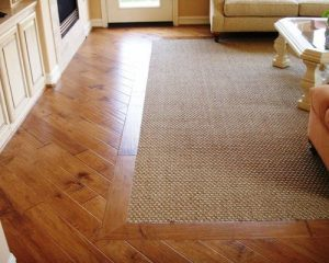 most homes with hardwood floors also have carpet and area rugs