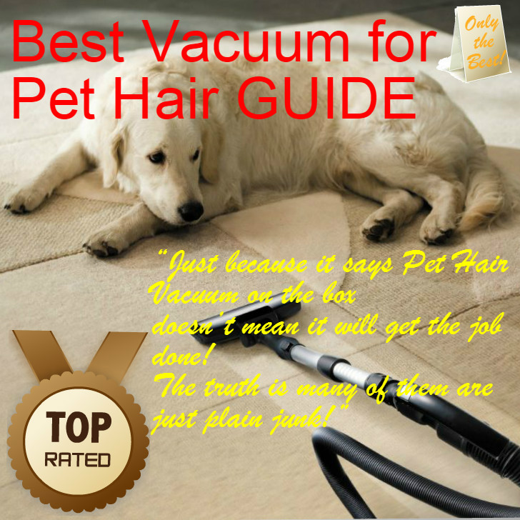 Best Vacuum For Pet Hair Guide