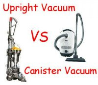 Upright vacuums vs canister vacuums