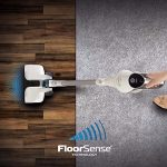 The new Hoover REACT Whole Home Cordless Advantage BH53210 is equipped with floorsense technology