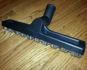 Hardwood floor attachment