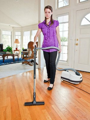 SEBO 90641AM Airbelt D4 cleans hard and wood floors