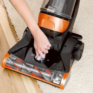 Bissell Cleanview Upright Multi Surface Vacuum 1831 features 5 height adjustments for optimum performance on all floor surfaces