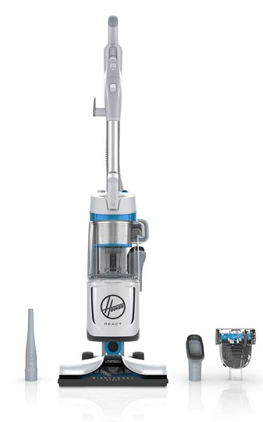 Hoover React QuickLift Deluxe Bagless Upright Vacuum UH73340PC
