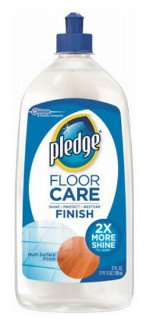 SC Johnson Pledge Floor Care Finish and Polish