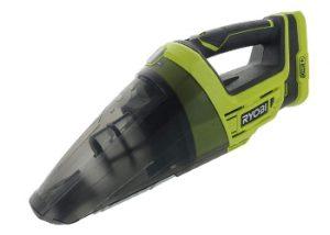 Ryobi P7131 One+ 18V Lithium Ion Battery Powered Cordless Dry Debris Hand Vacuum