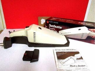 vintage black and decker dustbuster cordless handheld vacuum