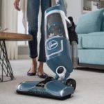 The Hoover REACT Professional Pet Plus Bagless Upright Vacuum UH73220PC features Swivel Steering for easy maneuverability around obstacles