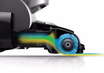 powerful suction and windtunnel 2 technology give excellent performance on carpet or smooth floors