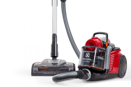 Electrolux EL4335B Ultra Flex Canister Vacuum designed especially for ultra plush carpet