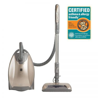 Kenmore Elite Canister Vacuum Cleaner with Ultra Plush Nozzle
