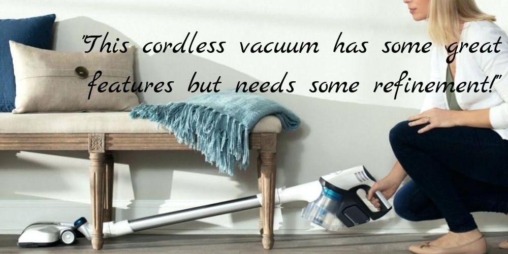 HOOVER REACT WHOLE HOME CORDLESS ADVANTAGE BH53210