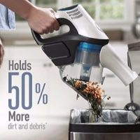The dust cup on the Hoover React Cordless BH53210 is about double the size of other leading cordless stick vacuums