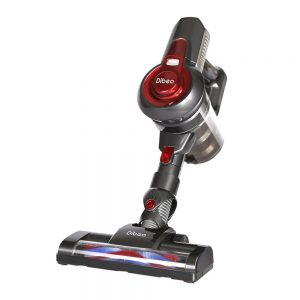 The Dibea C17 Cordless 2 in 1 Lightweight Cordless Stick Vacuum works very well for cleaning carpet stairs in the handheld mode