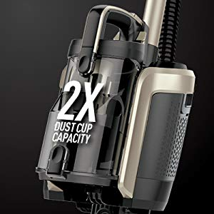 Shark ION P50 Lightweight Cordless Upright Vacuum IC162 has .54 dry quart dust cup capacity