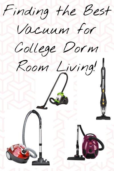 Best Vacuum for College Dorm Room